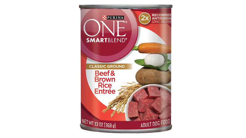 SmartBlend® Beef & Brown Rice Entrée - Classic Ground