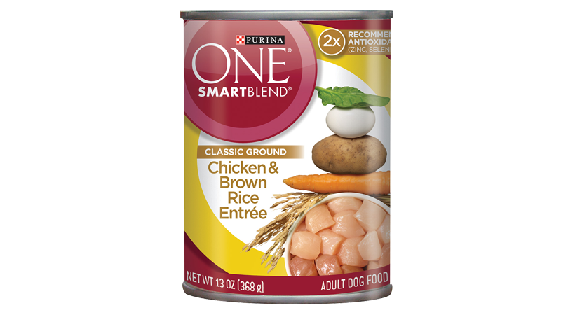 SmartBlend® Chicken & Brown Rice Entrée - Classic Ground