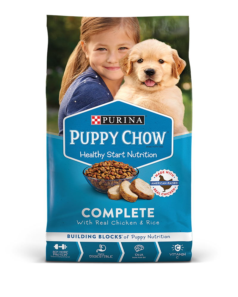 Puppy Chow Bag Home Carousel