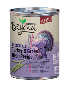 Beyond Grain Free Turkey and Green Bean Natural Wet Dog Food