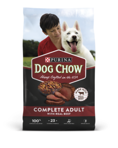 Dog Chow Complete With Real Beef