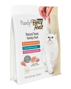 Purina Fancy Feast Purely Natural Treats Variety Pack Cat Treats