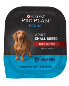 Purina Pro Plan FOCUS Adult Small Breed Beef Entrée Wet Dog Food