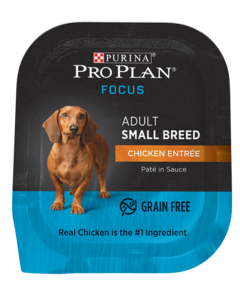 Pro Plan Focus Small Breed Chicken Wet Dog Food