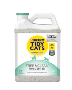 Tidy Cats Free & Clean Clumping Litter