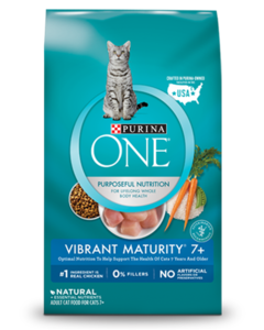 Purina ONE Vibrant Maturity® 7+