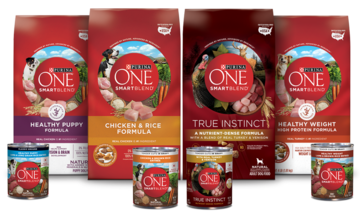 Purina One family of products
