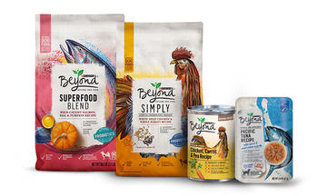 image of beyond natural dog food products